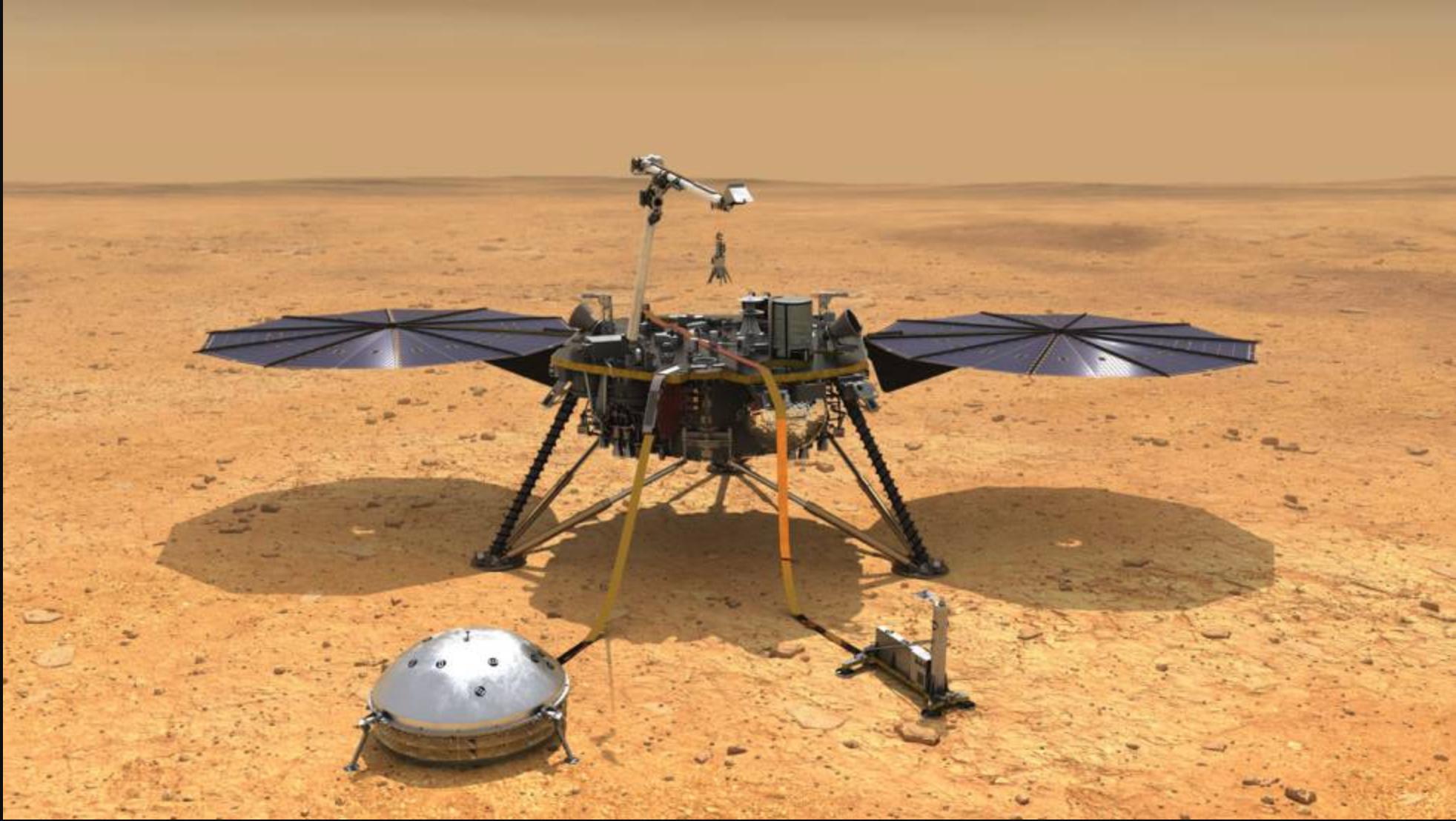 NASA detectó terremotos y actividad sísmica en Marte