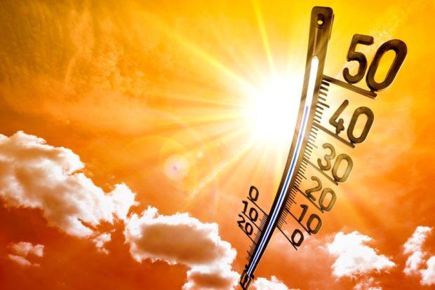 el año mas caluroso