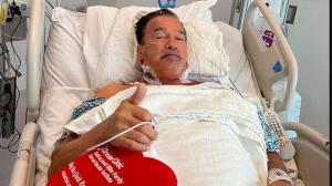Arnold Schwarznegger fue operado nuevamente del corazón
