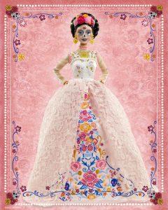 Mattel presentó su nueva Barbie Catrina