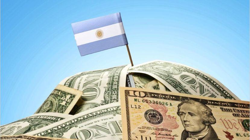 caida de los bonos argentinos