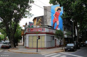 El barrio La Paternal fue declarado Capital del Mundial del Fútbol
