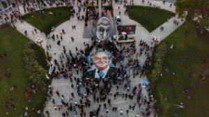 Mirá cómo fue el homenaje a Néstor Kirchner