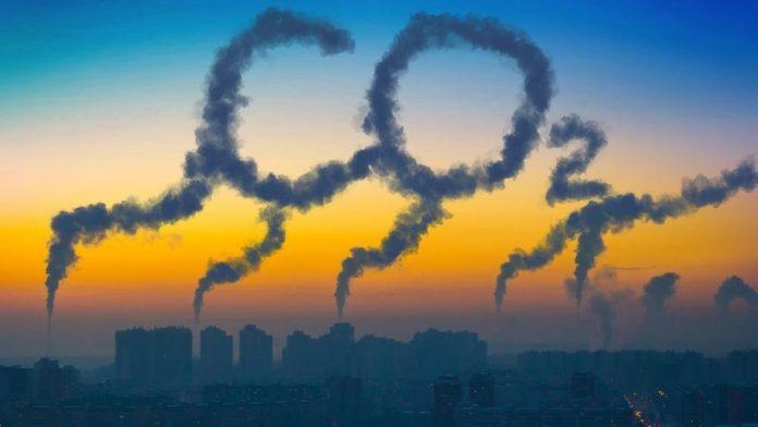 co2 en la atmósfera