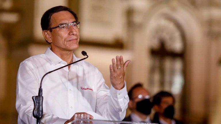 Martín Vizcarra cuestionó el Gobierno de Merino