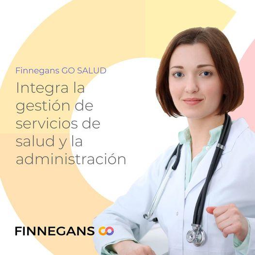 Finnegans GO Salud Para Gestionar organizaciones Del Sector Médico