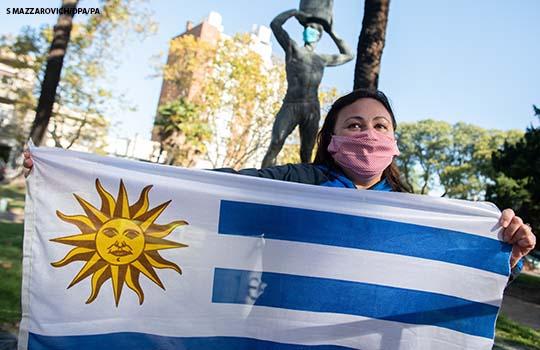 coronavirus en uruguay