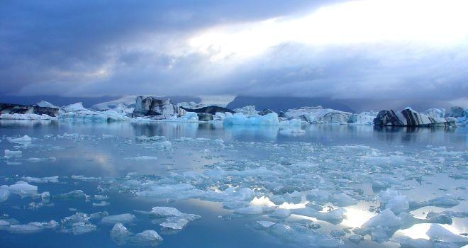 descongelamiento de las capas de hielo